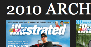 Nascar Illustrated Thumb